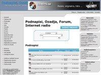Podnapisi, Ozadja, Forum, Internet radio